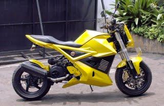Yamaha Mio Look Sportbike Modify