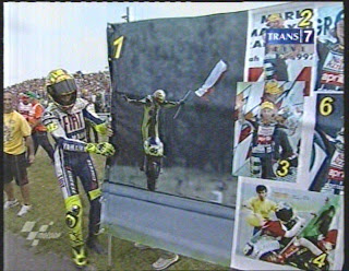Rossi 100 Win in Assen MotoGP