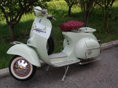 Image of Gambar Modifikasi Vespa