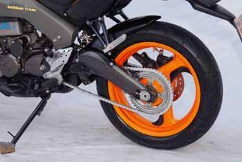 2003 Honda Tiger Rims and Tires Modification