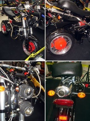 Honda C70 Like Minerva MadAss Modification