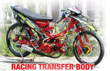 modifikasi mtor racing transfer body
