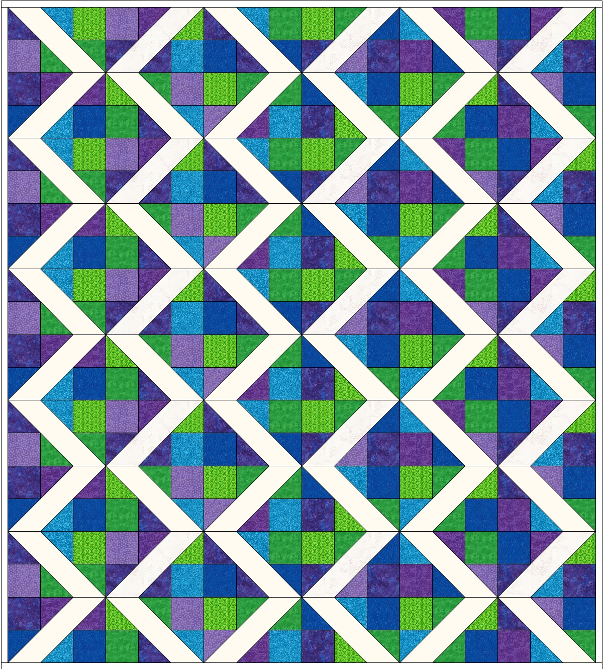 Happy Quilting The Happy Quilting Quilt A Long