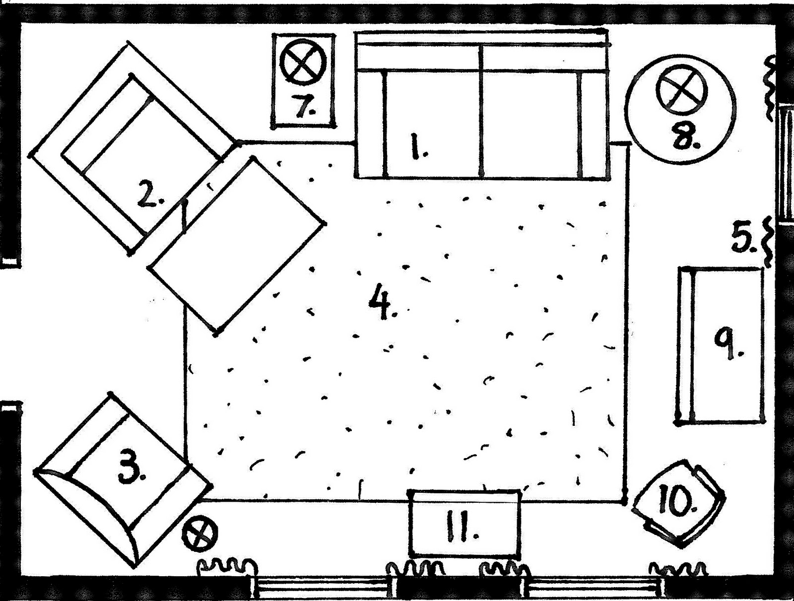 Drawing room drawing room flooring for Living room floor plan