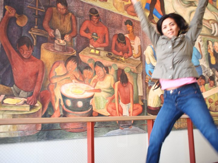 Jumping in art museums diego rivera mural project jumping for Diego rivera mural paintings