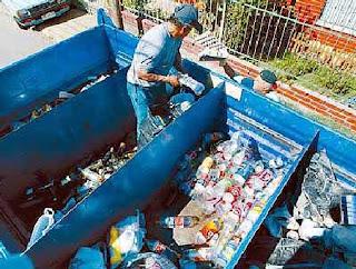 Contaminaci n ambiental el negocio de reciclar basura - Maquina de reciclaje de plastico ...