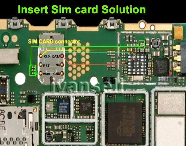 Nokia 5130 Sim Ic Jumper