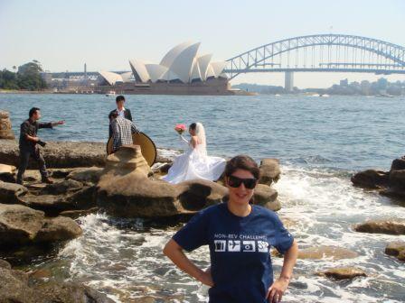 Sydney Opera House + Bride