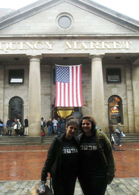 At the Quincy Market in Boston