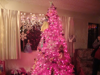 pink christmas, princess