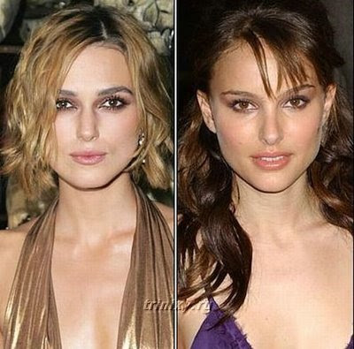 natalie portman and keira knightley