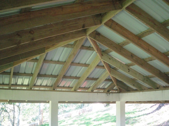 Устройство крыши для беседки своими руками фото 566