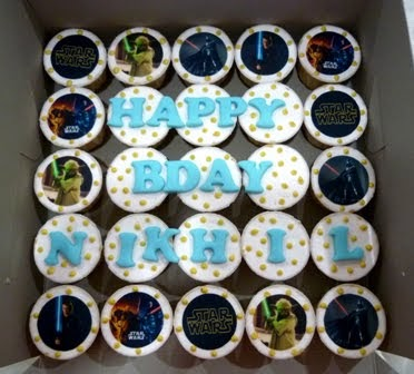 Cake Images With Name Nikhil : Chomel Cuppies: Happy Birthday Nikhil!!