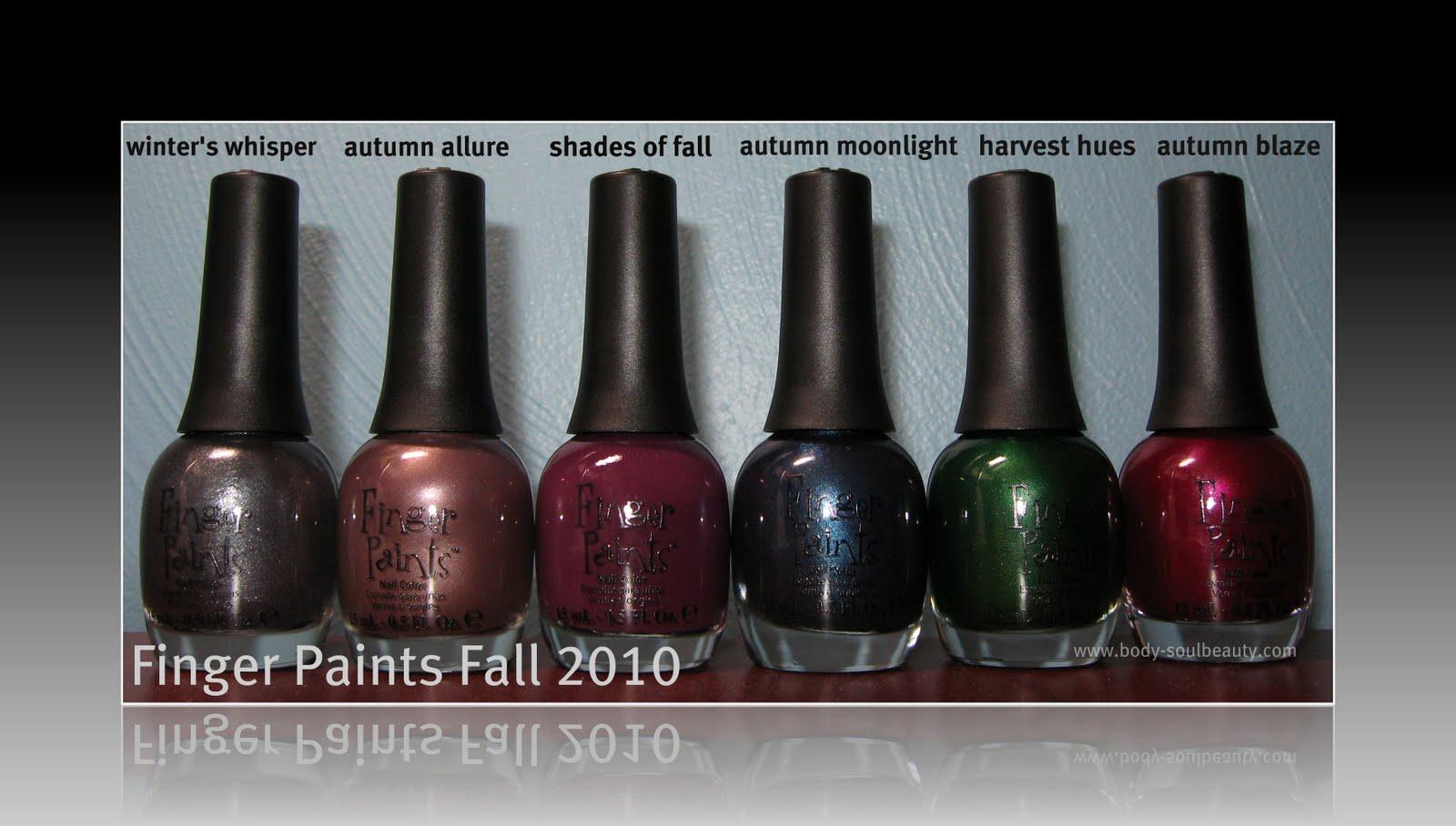 Finger Paints Fall 2010   Body & Soul