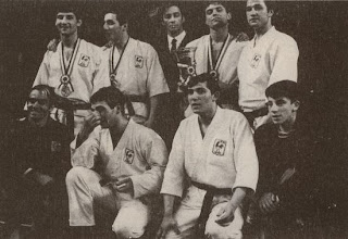 Dominique Valera Karate French Team 1970