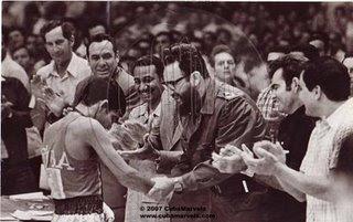 Jorge Luis Romero and Fidel Castro
