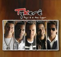 Tykerê - Aqui é teu lugar (2008) Capa