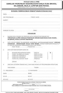 Persatuan Alumnismkkkb Borang Permohonan Pendaftaran Menjadi Ahli