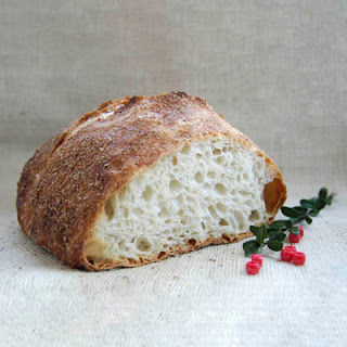 artisan bread for christmas dinner