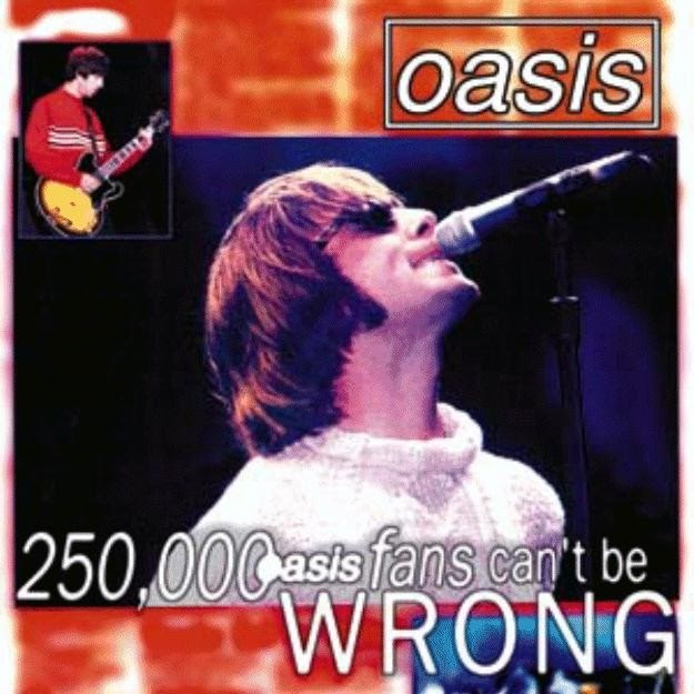 Oasis 1996 08 11 Knebworth Park England Quot 250 000
