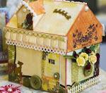 домик-шкатулка в стиле шебби-шик