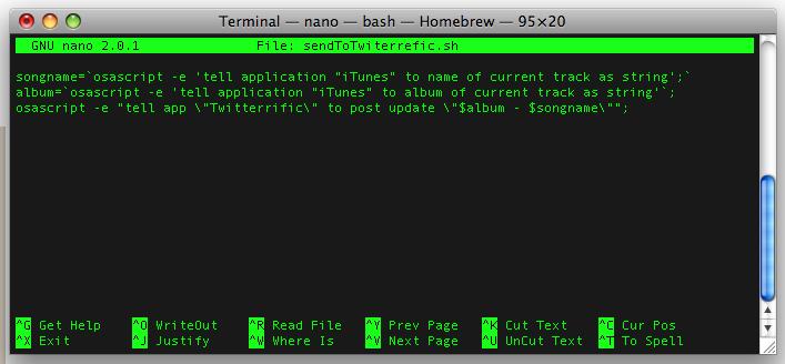 Ekran görüntüsü, Terminal
