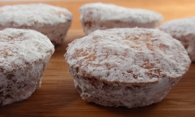FREE: Powdered Sugar Doughnut-Muffins