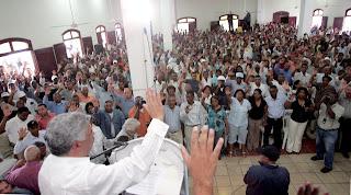 Foto 0 en  - Inquieta escasez de agua- boletinGUASABARAeditor 22 3 2009- Vargas dice fracasos e incumplimientos generan las justas protestas / OB pide conciencia