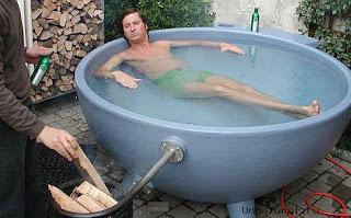 ванна на природе