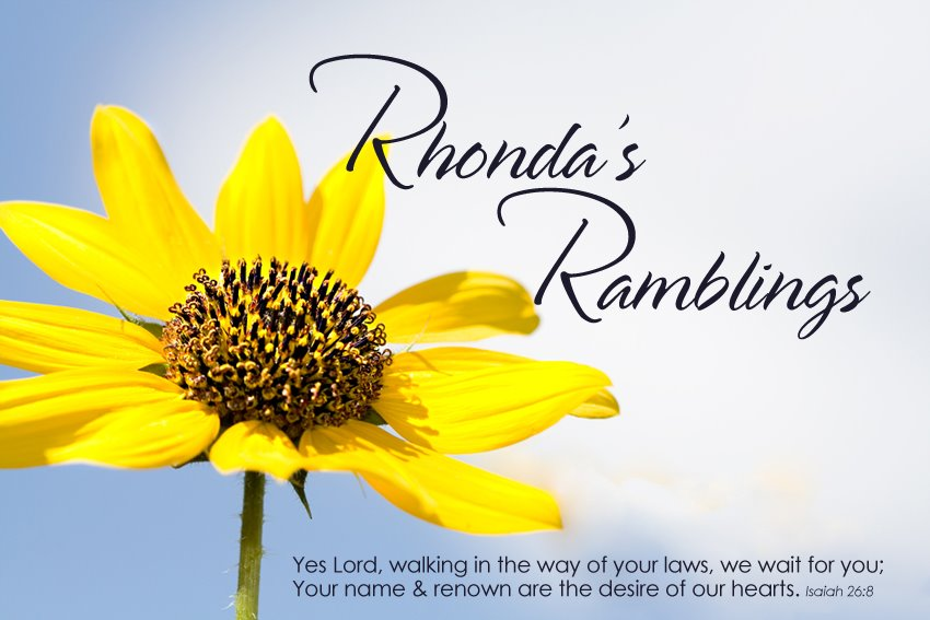 Rhonda&#39;s Ramblings