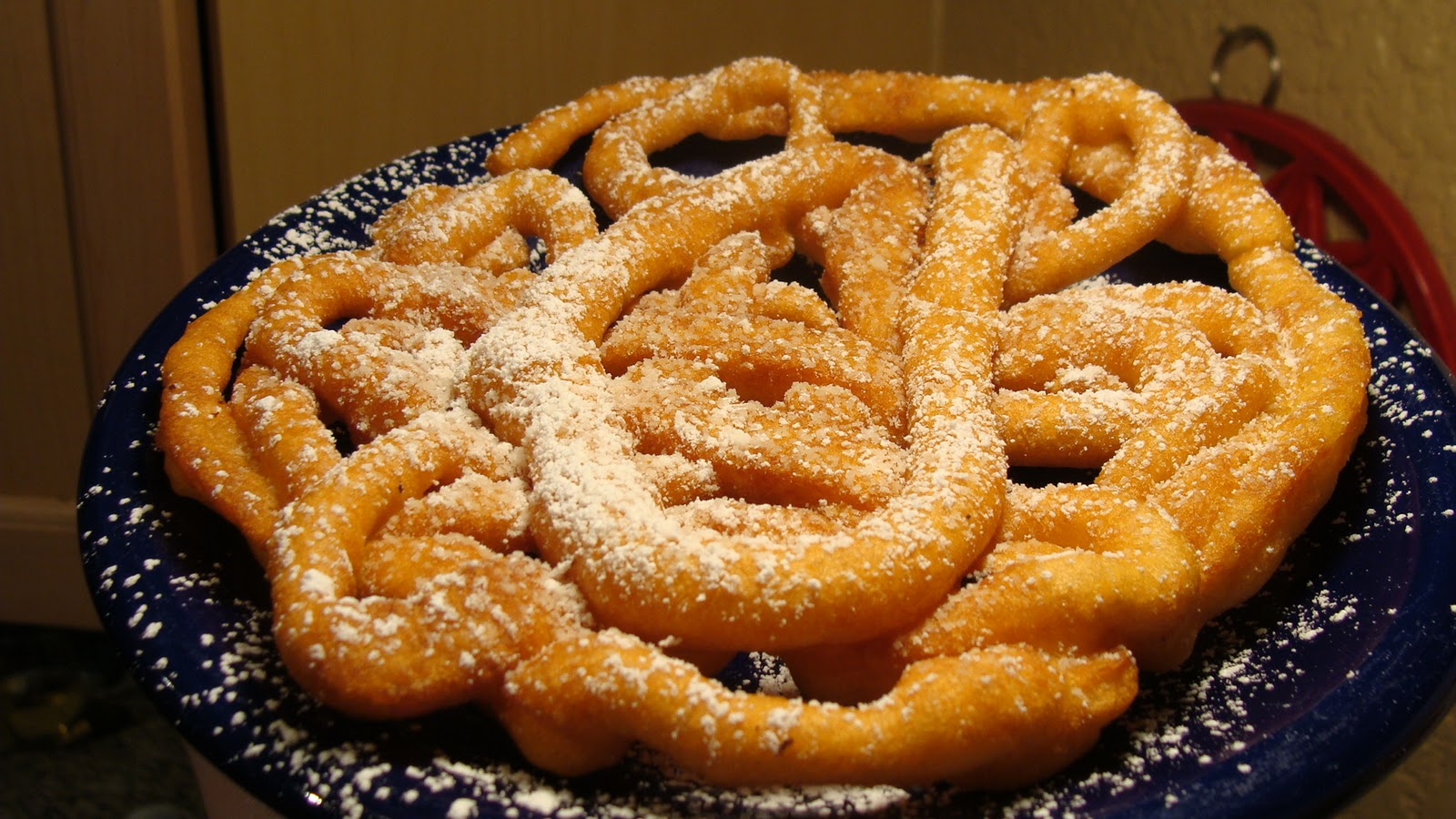 Fermented Grapes: Funnel Cakes