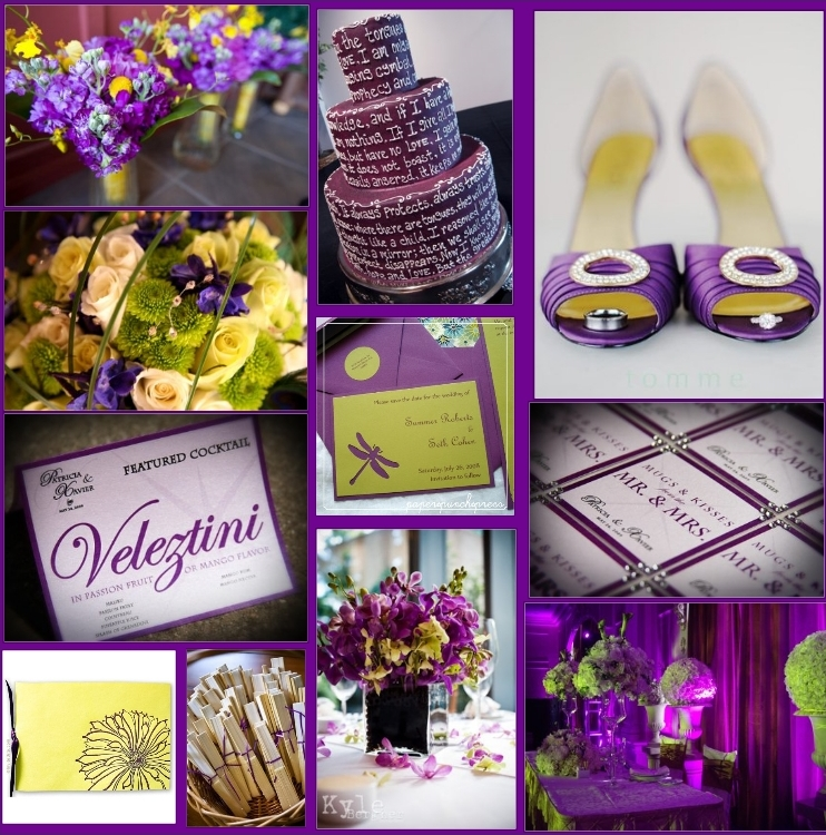 fabulous weddings events a daring color scheme yellow