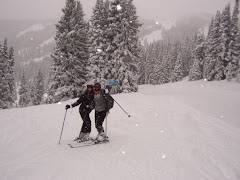 me & Cat on Copper mountain...