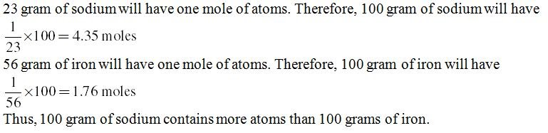 NCERT Solutions Science Grade 9 Chapter 3 Atoms and Molecules – Worksheet Mole Mole Problems