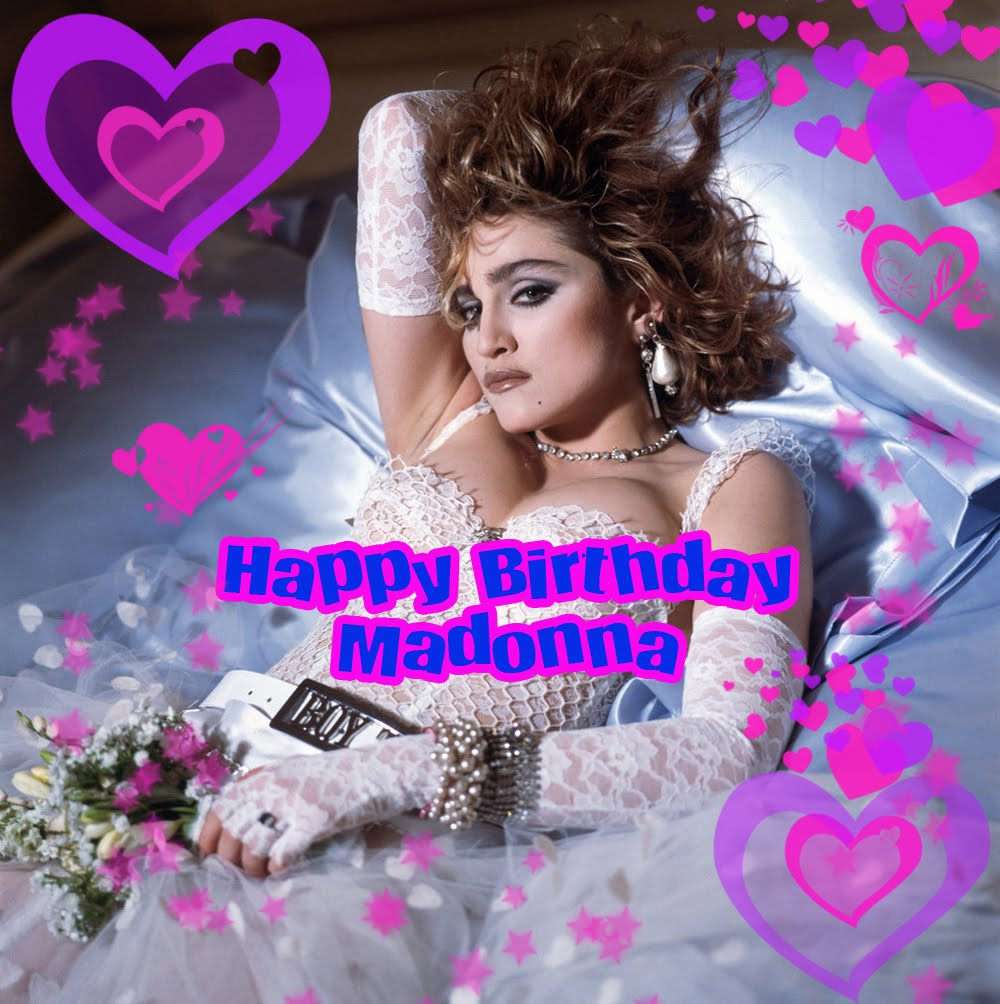 Richard says happy birthday madonna its the queen of pops 52nd birthday today and i made this rather special birthday card for her using photoshop so madonna should you be reading this bookmarktalkfo Image collections