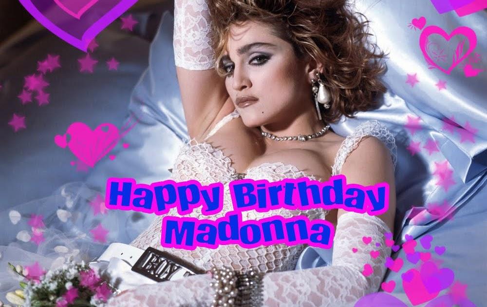 Richard Says Happy Birthday Madonna