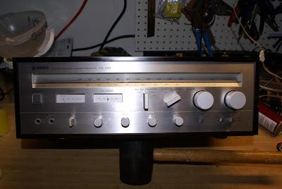 hifi collector receivers yamaha cr 440