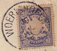 Wörishofen Stempel 1897