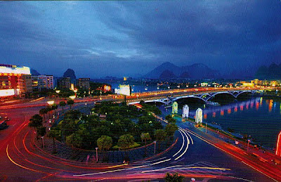 Jiefang Bridge in Guilin