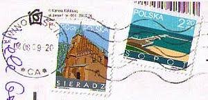 Świnoujście stamps