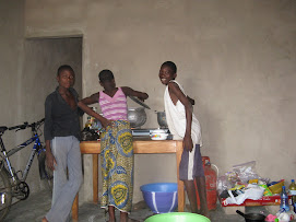 Cooking African food in my kitchen