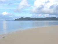 View from Lee Marvin Beach, Palau