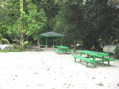 Ngchus Beach Picnic Area, Palau