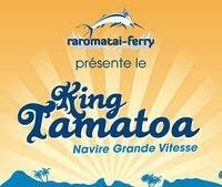 Raromatai King Tamatoa Ferry Logo