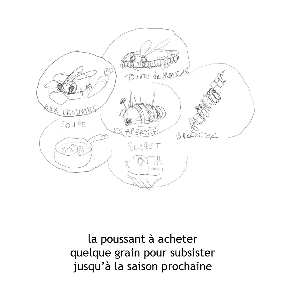 Grandbarbu comment on fait une page de la fourmi et la cigale - Comment dessiner une fourmi ...