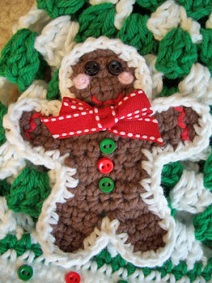 Repeat Crafter Me Gingerbread Man Crochet Hat Pattern ...