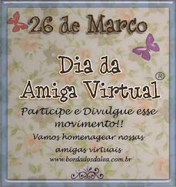 oferta da Boborinha  Amarela  Dia das Amigas Virtuais.