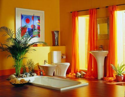 The Home Architecture: Colorful Bathroom Interior Design Ideas