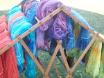 Roving, yarn, fleeces, mohair locks etc. for sale http://psalm23farm.blogspot.com
