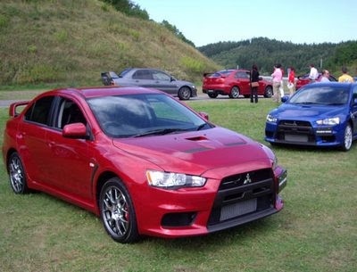 Mitsubishi Lancer Evolution desktop wallpaper X